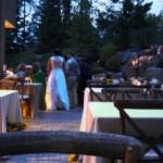 Stone Falls Patio Wedding